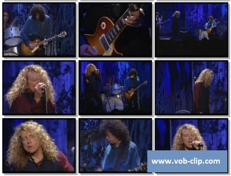 Jimmy Page & Robert Plant - Since I've Been Loving You (No Quarted)  (1994) (VOB)