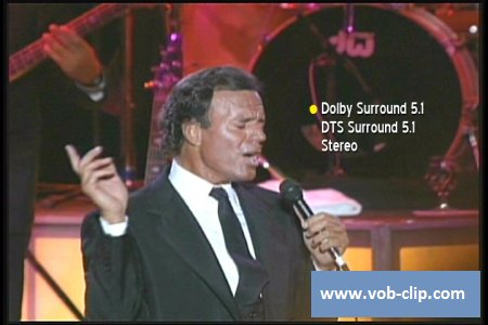 Julio Iglesias - Live From Los Angeles, Greek Theater - 1990 (2009) (DVD5)