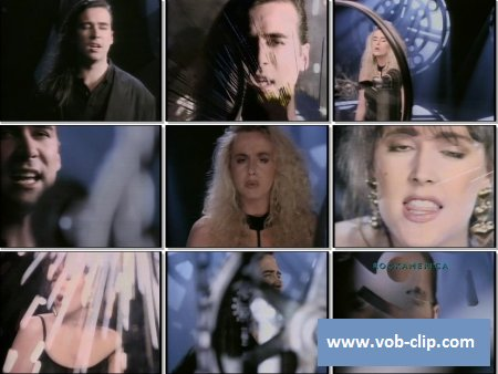 Human League - Heart Like A Wheel (Rockamerica Version) (1990) (VOB)
