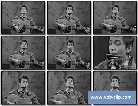 Bob Dylan - Blowin In The Wind (1963) (VOB)