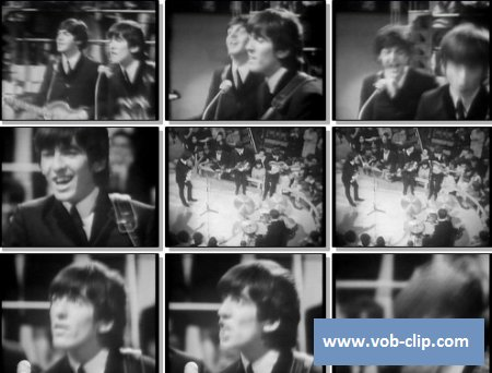 Beatles - Roll Over Beethoven (From Ready Steady Go, London, UK) (1964)  (VOB)