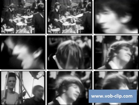 Beatles - Shout (From TV Show Around The Beatles) (1965) (VOB)