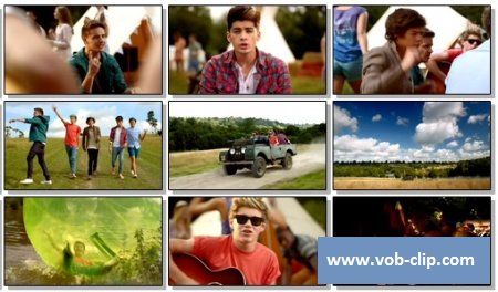 One Direction - Live While We're Young (2012) (VOB)