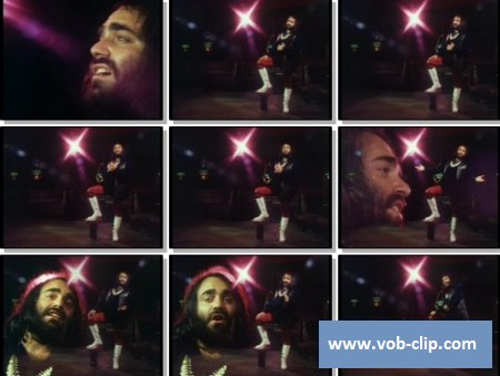 Demis Roussos - My Only Fascination (1974) [Color] (VOB)