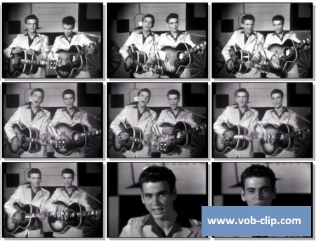 Everly Brothers - Bye Bye Love (1957) (VOB)