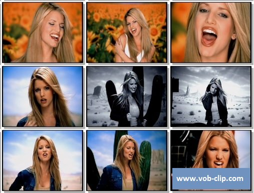 Jessica Simpson I Wanna Love You Forever 1999 Vob