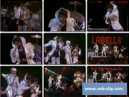 LaBelle - Lady Marmalade (From The Midnight Special TV Show, USA) (1974) (VOB)