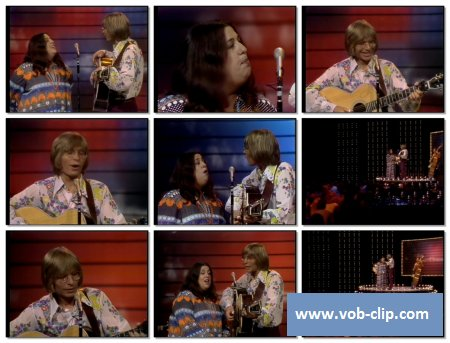 John Denver And Cass Elliott - Leaving On A Jet Plane (1972) (VOB)