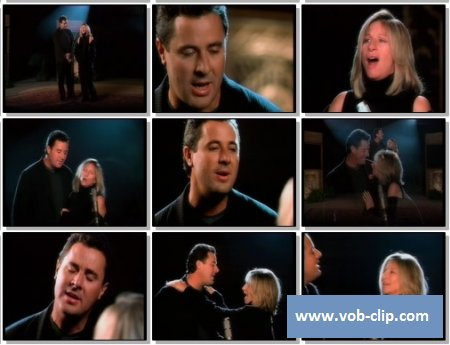 Barbra Streisand feat. Vince Gill - If You Ever Leave Me (1999) (VOB)